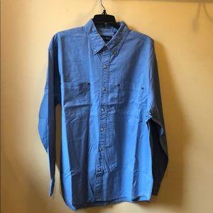 Men's Faded Glory denim shirt size large